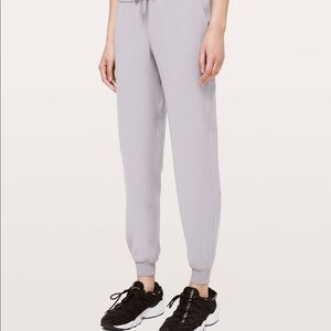 Lululemon On the Fly Gray Joggers